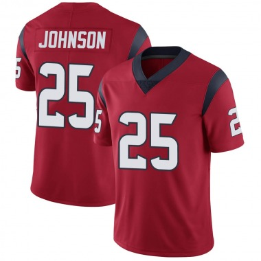 Men's Nike Houston Texans Duke Johnson Jr. Alternate Vapor Untouchable Jersey - Red Limited