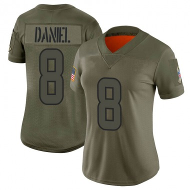 Women's Nike Houston Texans Trevor Daniel 2019 Salute to Service Jersey - Camo Limited