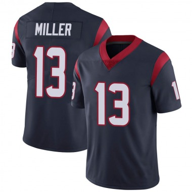 Youth Nike Houston Texans Braxton Miller Team Color Vapor Untouchable Jersey - Navy Blue Limited